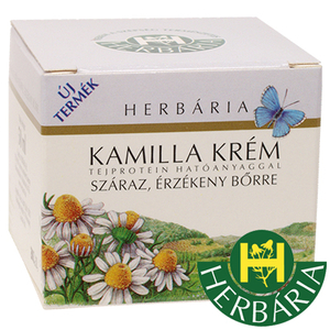Chamomile cream Herbaria - for dry, sensitive skin - 50 ml
